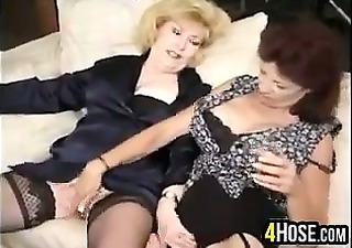 mature harlots in a gang bang