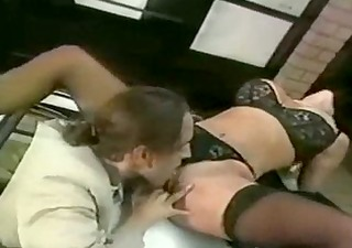 eve lawrence: blond humped in garage
